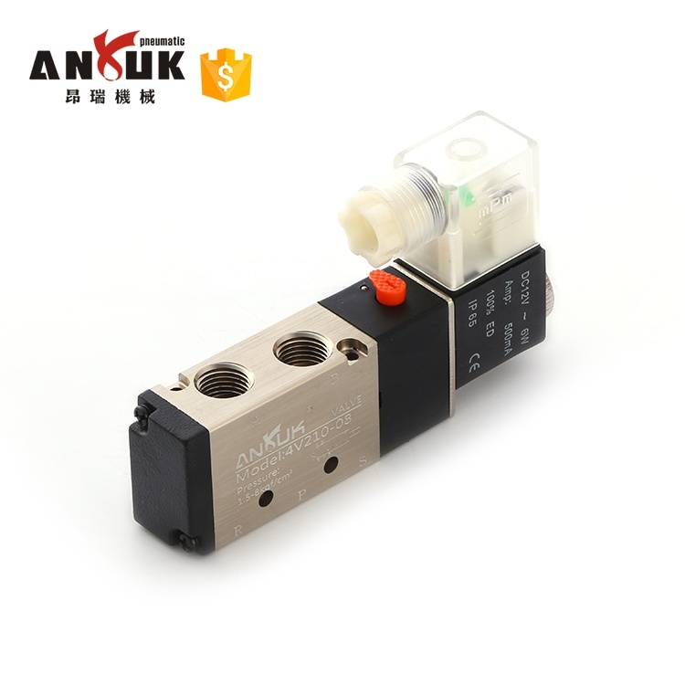 China Airtac Type 4v210 08 Solenoid, Solenoid Wiring Diagram