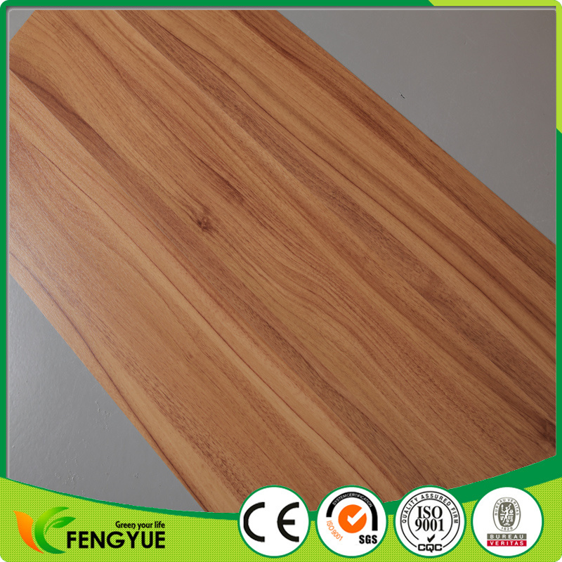 China Commercial Used Wood Pattern Pvc Vinyl Tile Flooring China
