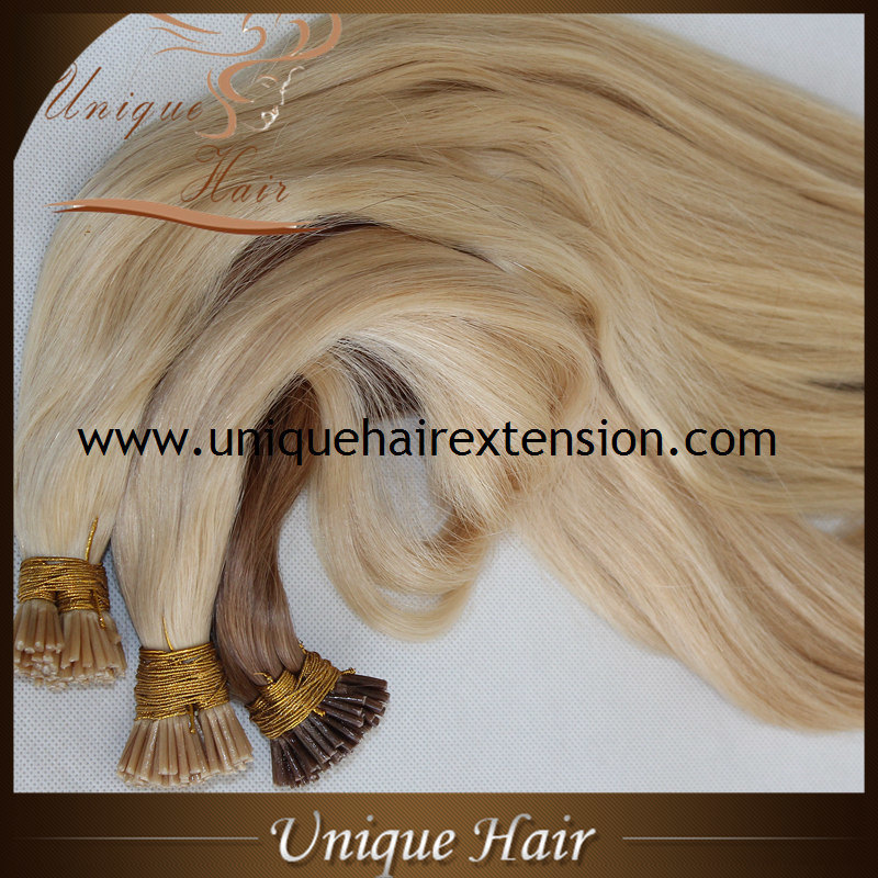 China Pre Bonded Keratin I Tip Human Hair Extensions China Fusion