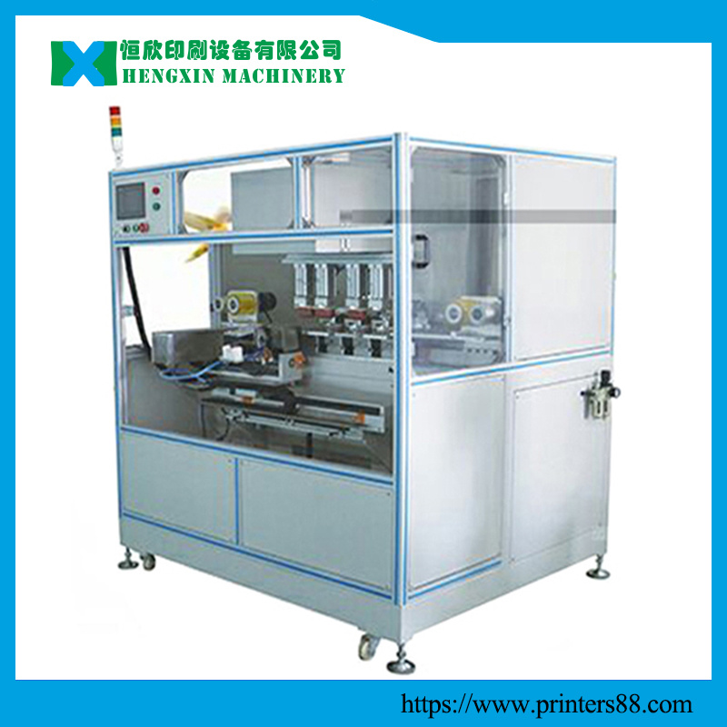 Four Color CNC Pad Printing Machine pictures & photos