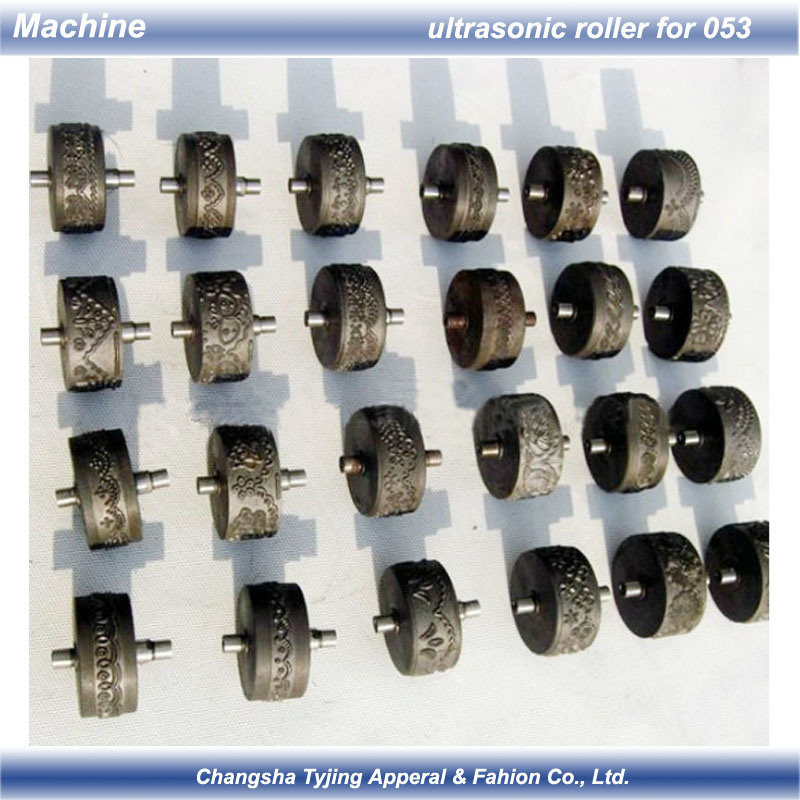 China Pattern Wheel For Ultrasonic Lace Sewing Machine Photos