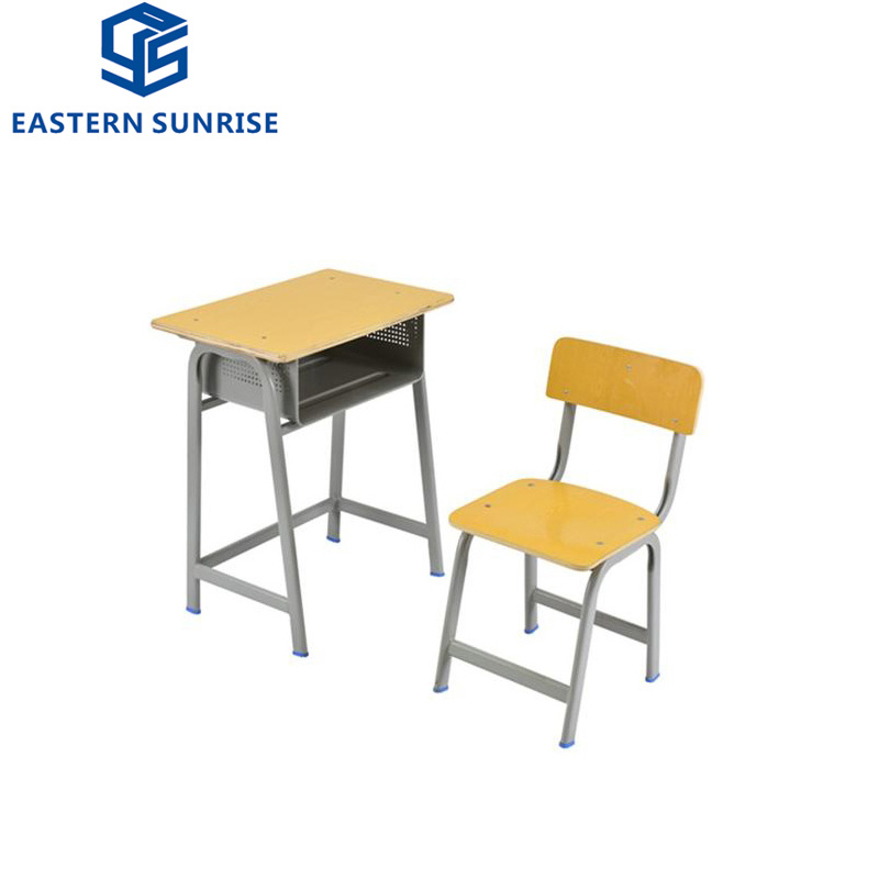 China Very Durable Green Wooden School, Wooden School Desk And Chair