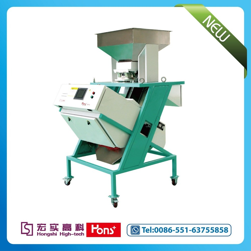 New Intelligent CCD Rice Color Sorter Grain separator, Color Sorter