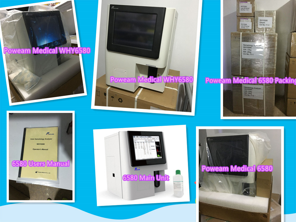 Automatic Hematology Blood Cell Counter (WHY6580)