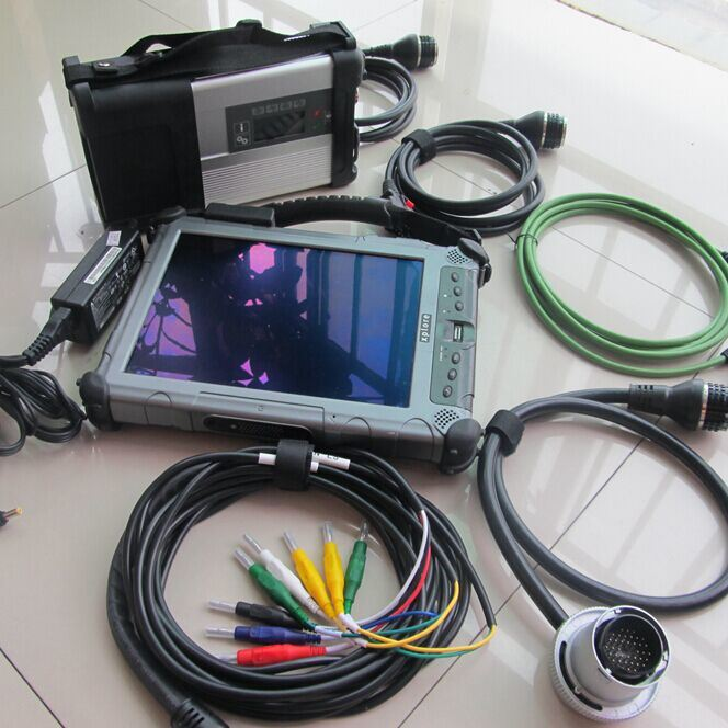 China MB Star Diagnostic C5 WiFi SD Connect C5 with C4