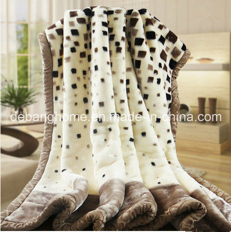 Simple-Style Print Super Soft Flanen Fleece Blanket