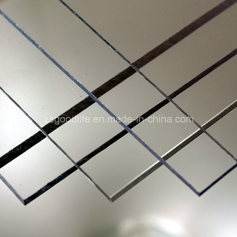 Unbreakable UV Protection Polycarbonate Solid Sheet with Thickness 1.5-12mm