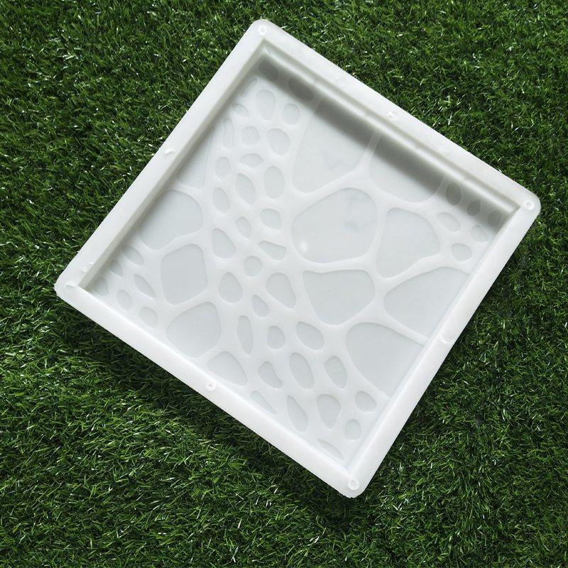 hot item pvc concrete plastic patio block interlocking paver mold