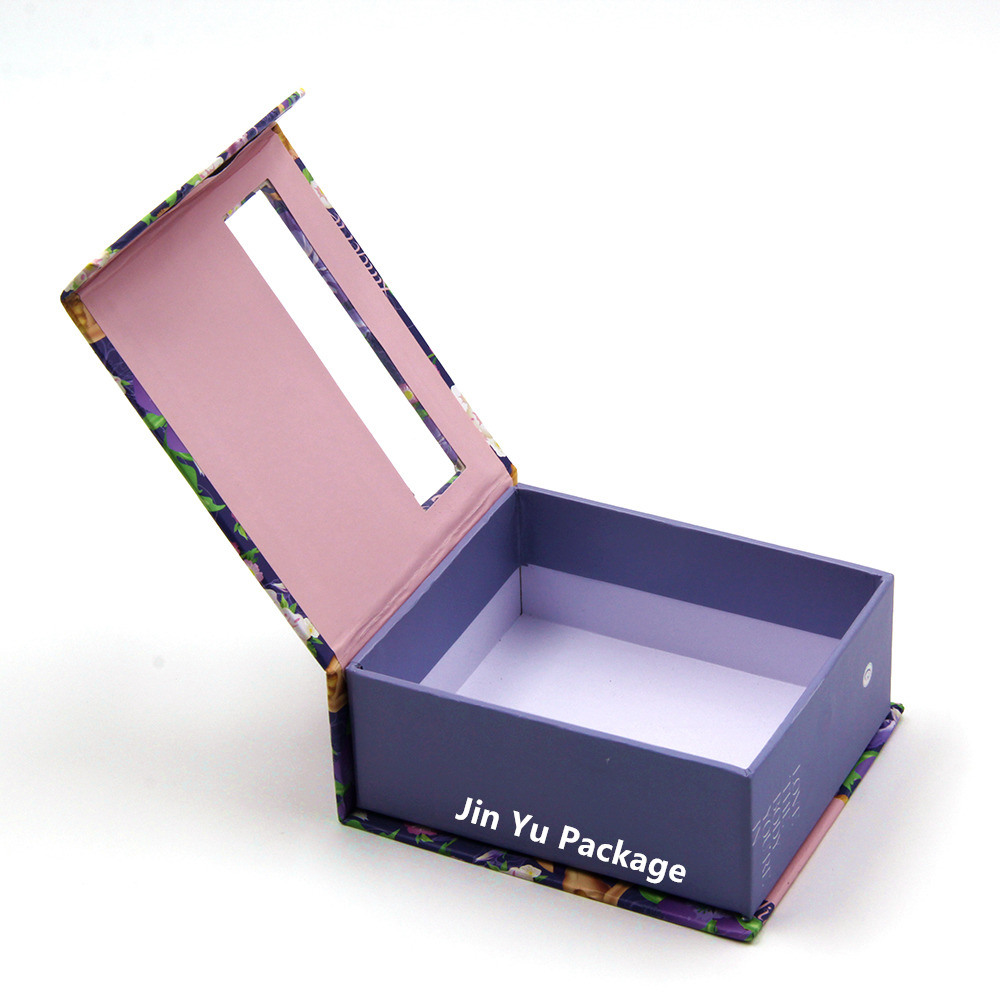 Printing Cardbaord Paper Gift Magnetic Window Packaging Box pictures & photos