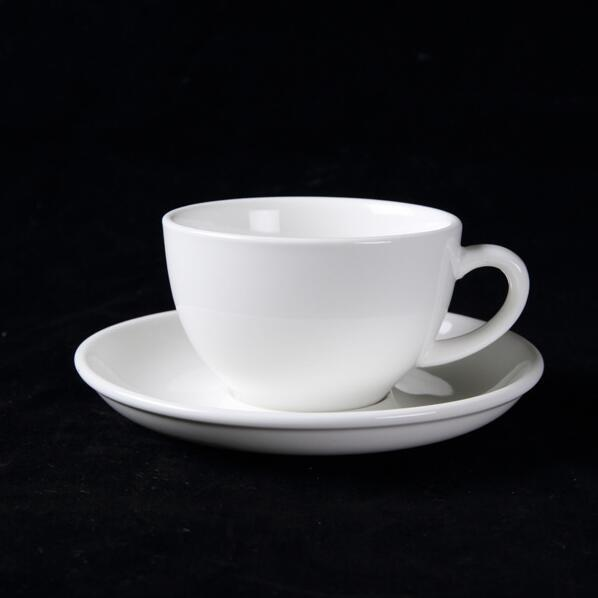 White Porcelain Coffee Cup Red Tea