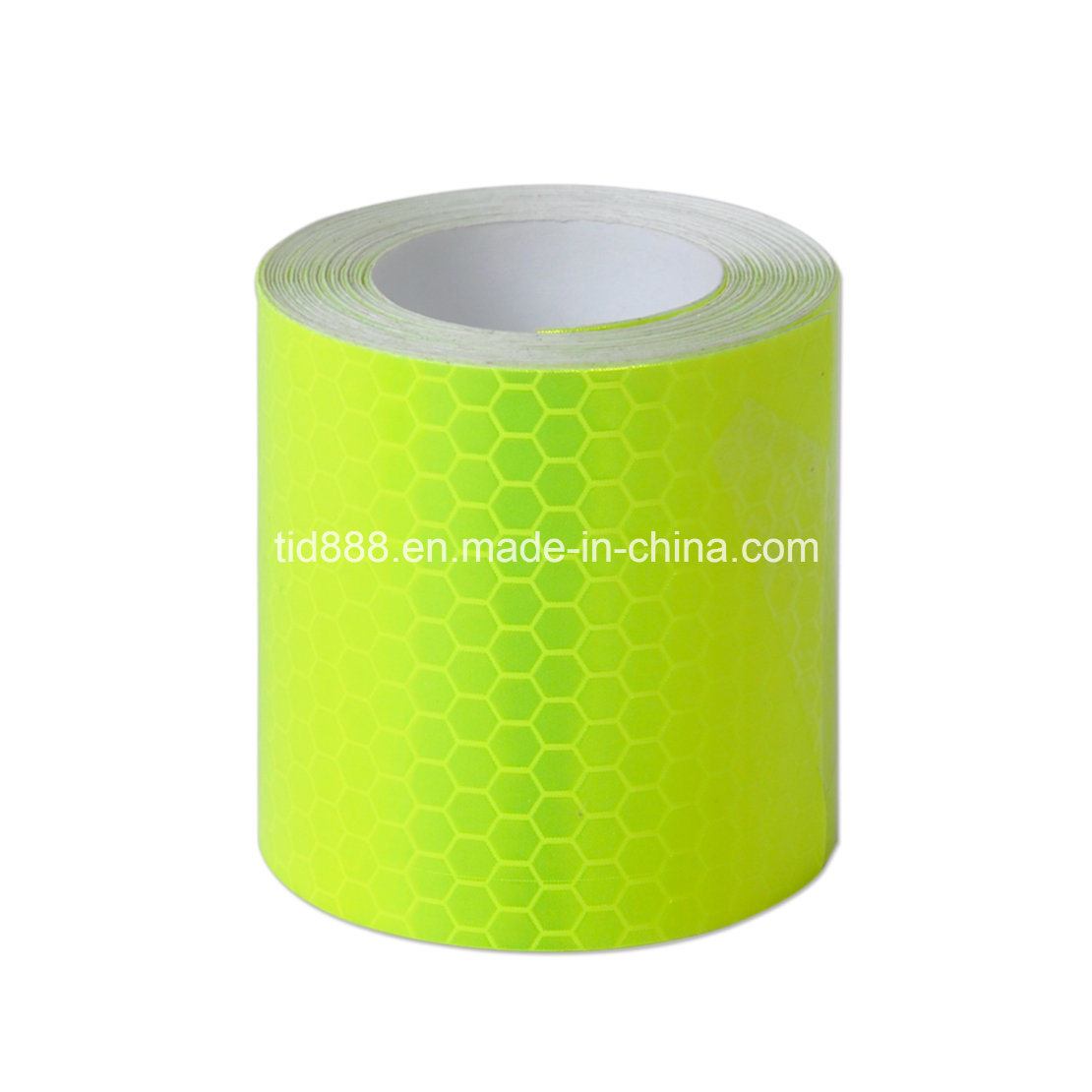 """Fluorescence Yellow Night Reflective Safety Warning Conspicuity Tape 2/""""X10/' 3M"""