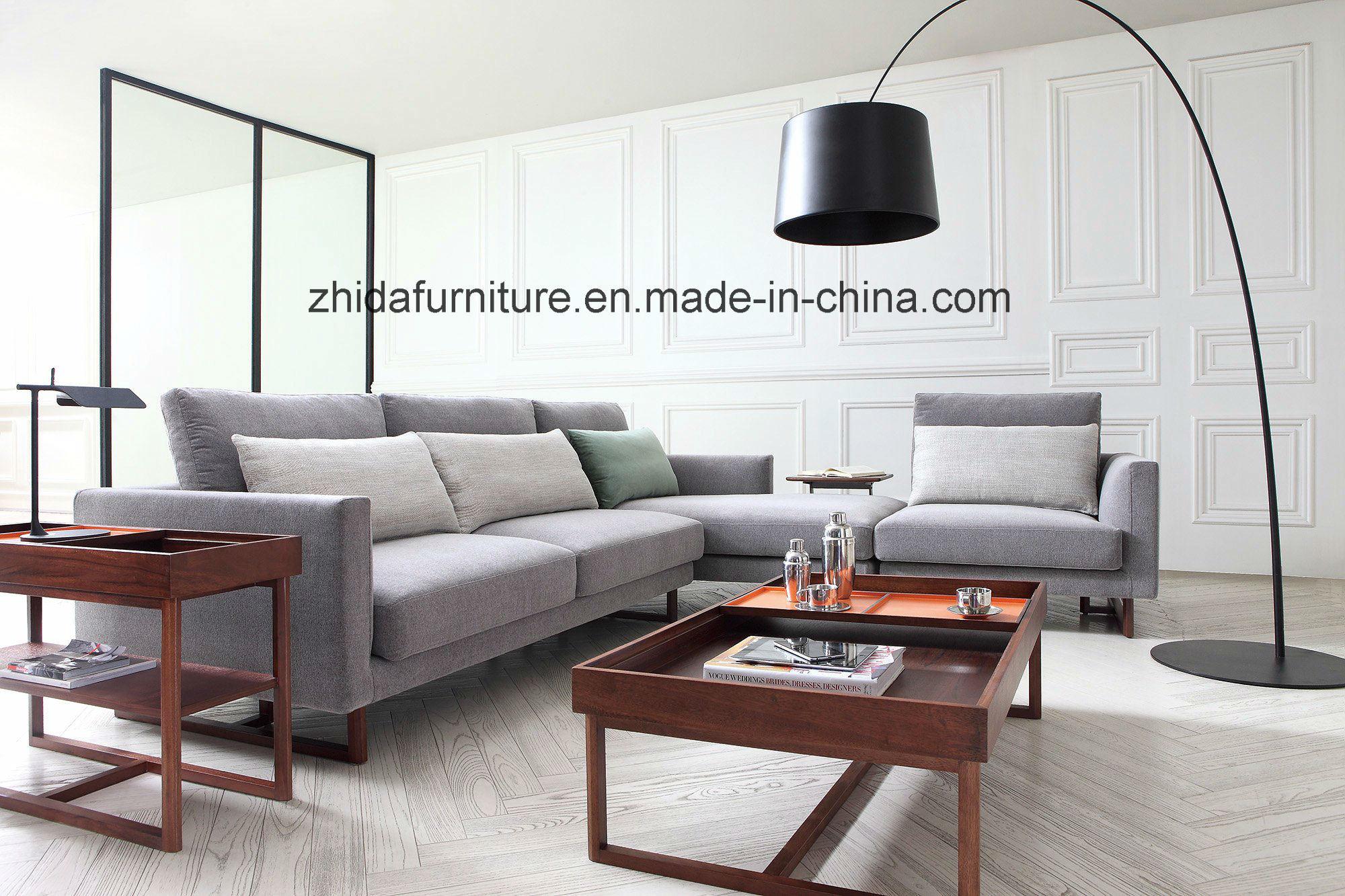 Hot Item Living Room L Shape Sofa Fabric Ms1501