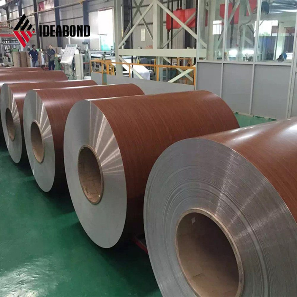 Wooden Pattern Aluminium Roll with Competitive Price in China pictures & photos