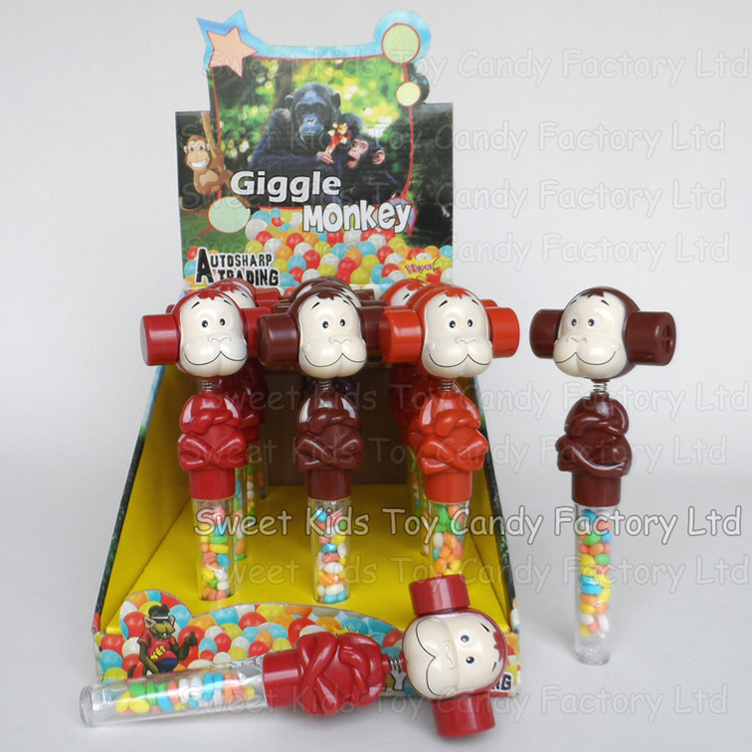 Wiggle & Giggle Monkey Toy Candy (131118)