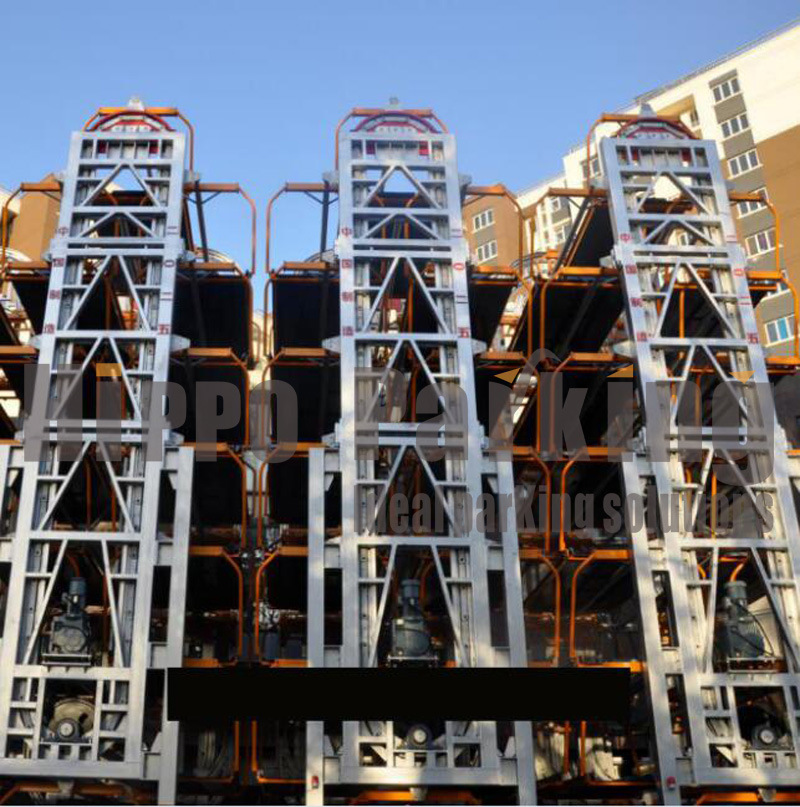 Vertical Parking: China 8-12 Post Smart Vertical Rotary Automated Car