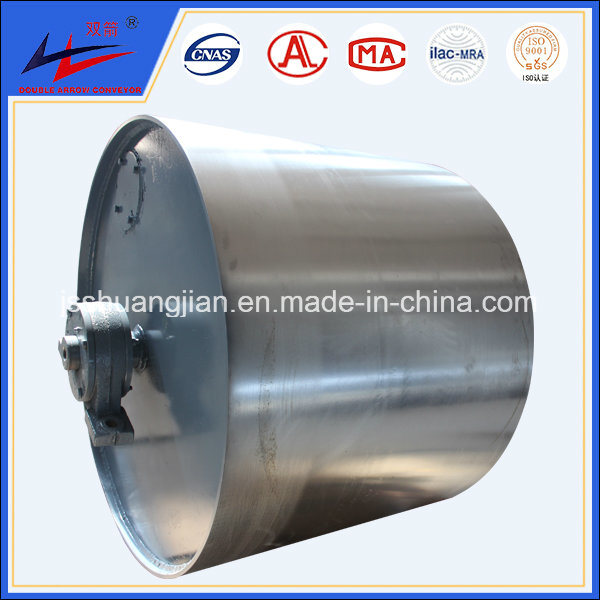 Diamond Conveyor Drive Pulley with Rubber and PU Lagging Coat pictures & photos