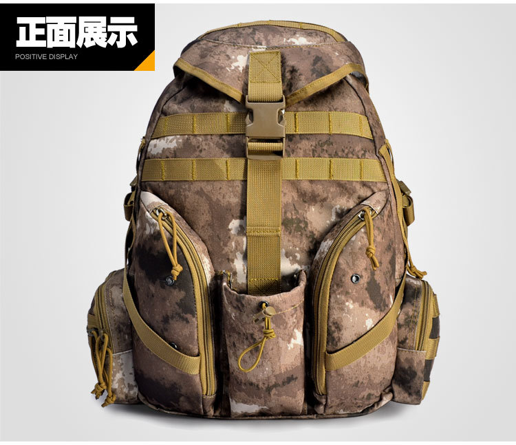 3D Military Tactical Duty Hiking Water-Proof Backpack