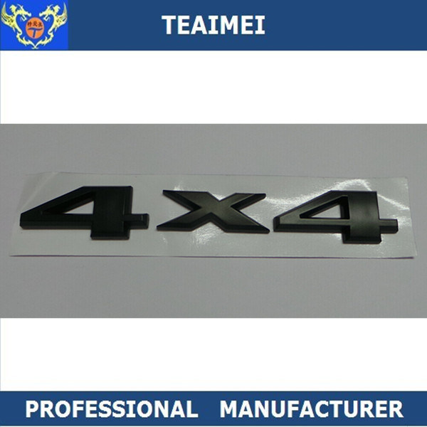 China Abs Car Modifition For Jeep 4 X 4 Letter Emblems China