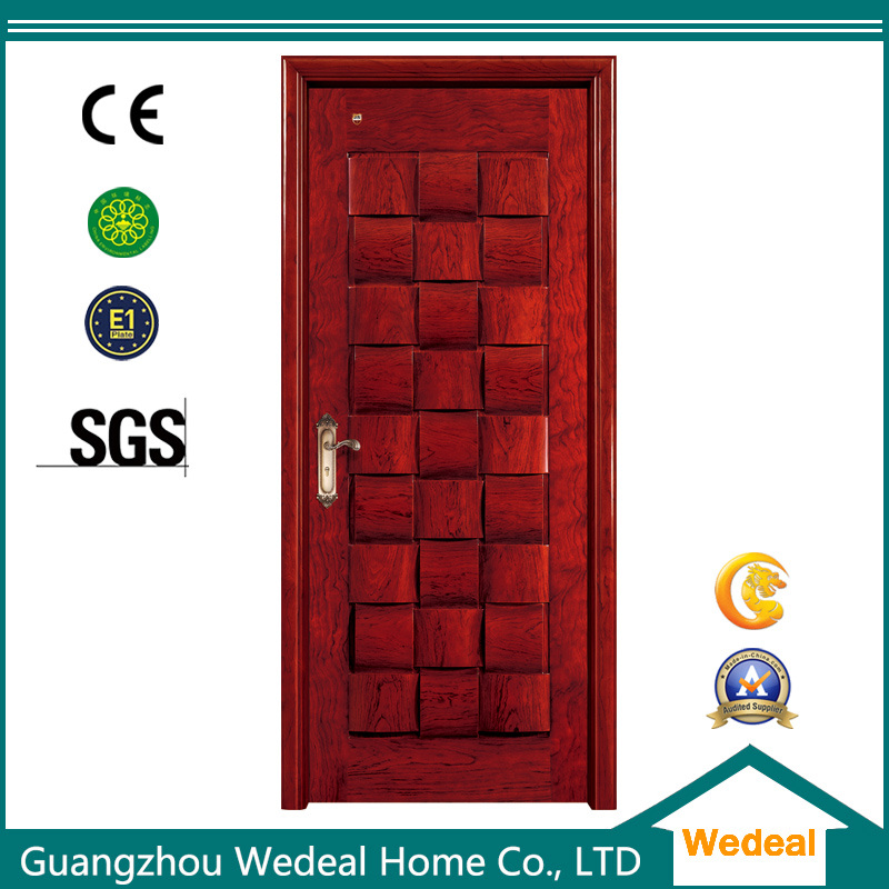 China Wooden Pvc Moulded Interior Door For Hotel Houses China