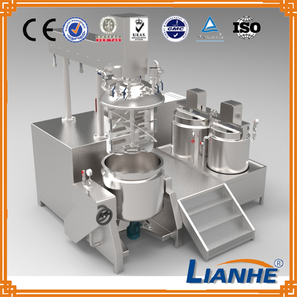 Cosmetic Cream Vacuum Emulsifying Machine Mixer for Beauty Product pictures & photos