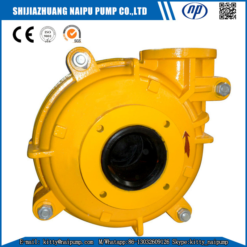 China 1 5/1b-Ah Rubber Liner Waste Water Sludge Pump for Sale Photos