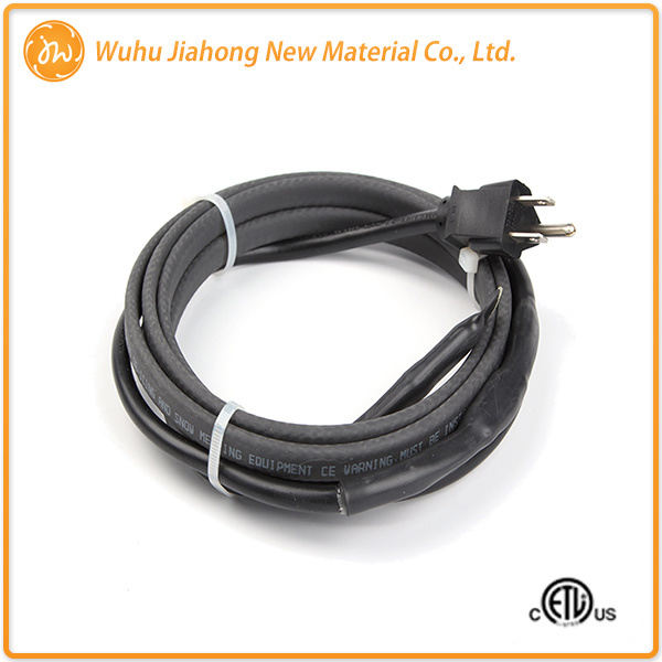 China Plug-in Roof Channels Snow Melting Electric Heating Wire ...