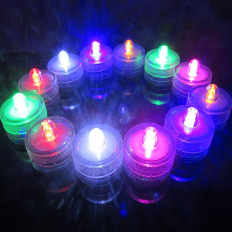 Waterproof LED Candle Lamp for Aquarium Coffee Bar Party Wedding Hall Electronic Candle Light Diving Lights pictures & photos
