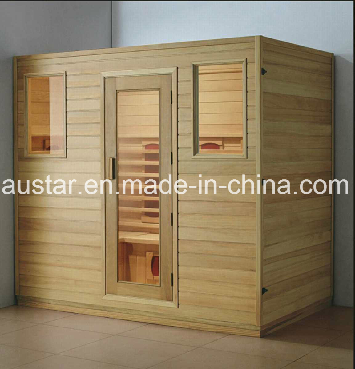 Solid Wood Sauna Room with Customized Size (AT-8616)