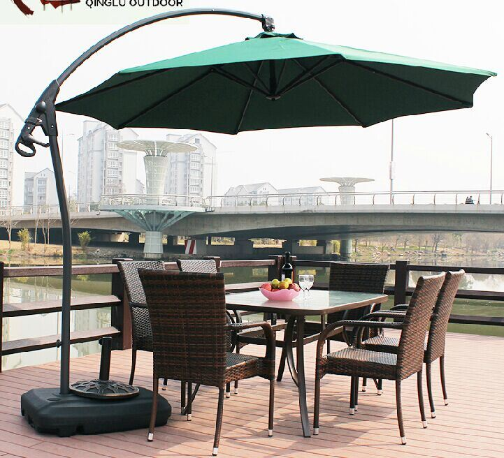 9 PCE Dining Set Table & Chairs Wicker Rattan Outdoor Sofa Set pictures & photos