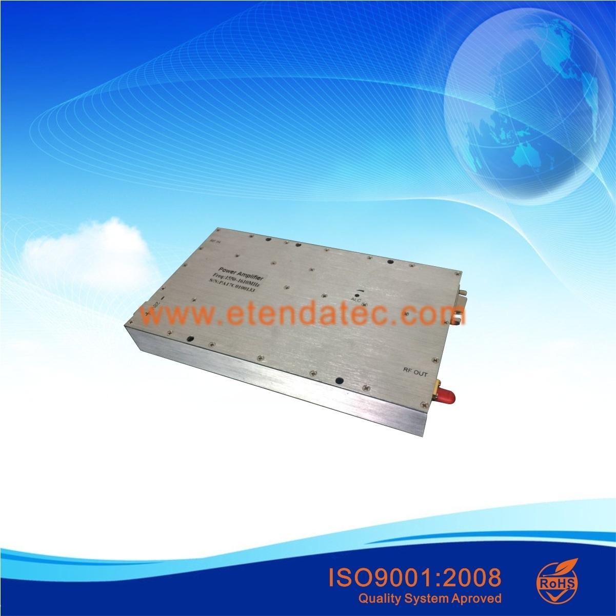 China 45 dB Gain 100 Watt RF GaN Solid State Power Amplifier/PA
