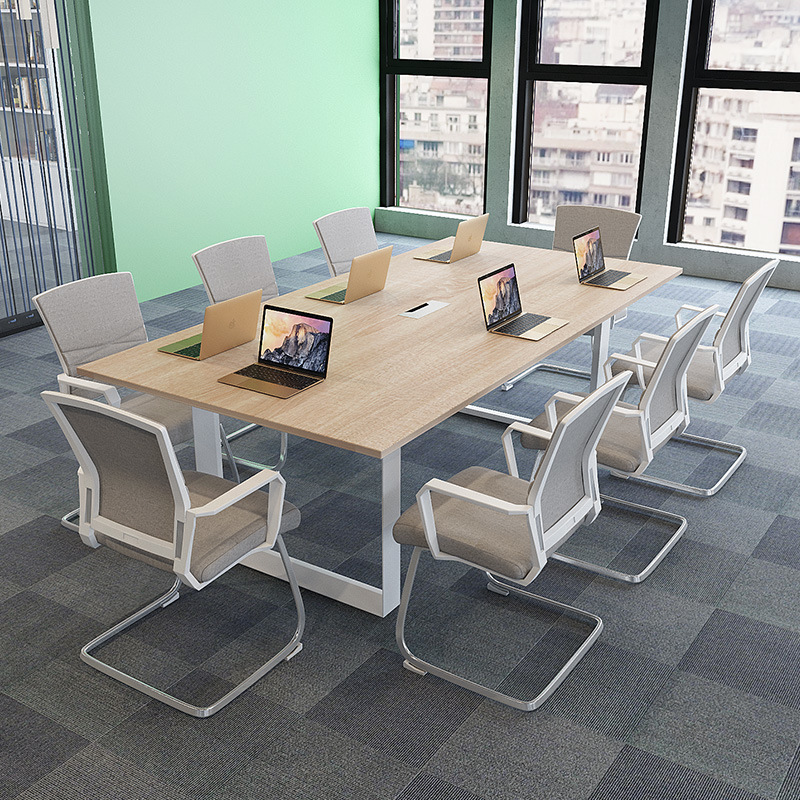 Hot Item Library Furniture Conference Table For Reading Room Or Reception
