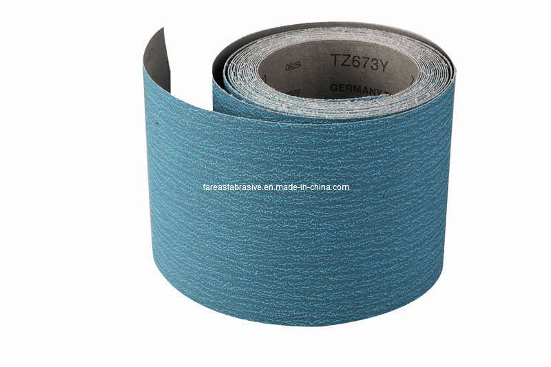 Zirconia Abrasive Cloth (TZ673Y) /Floor Sanding Belt/Sanding Belt/Coated Abrasives/Abrasive Tools