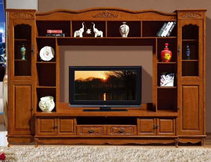 China Wooden Furniture Modern TV Cabinet TV Showcase ...