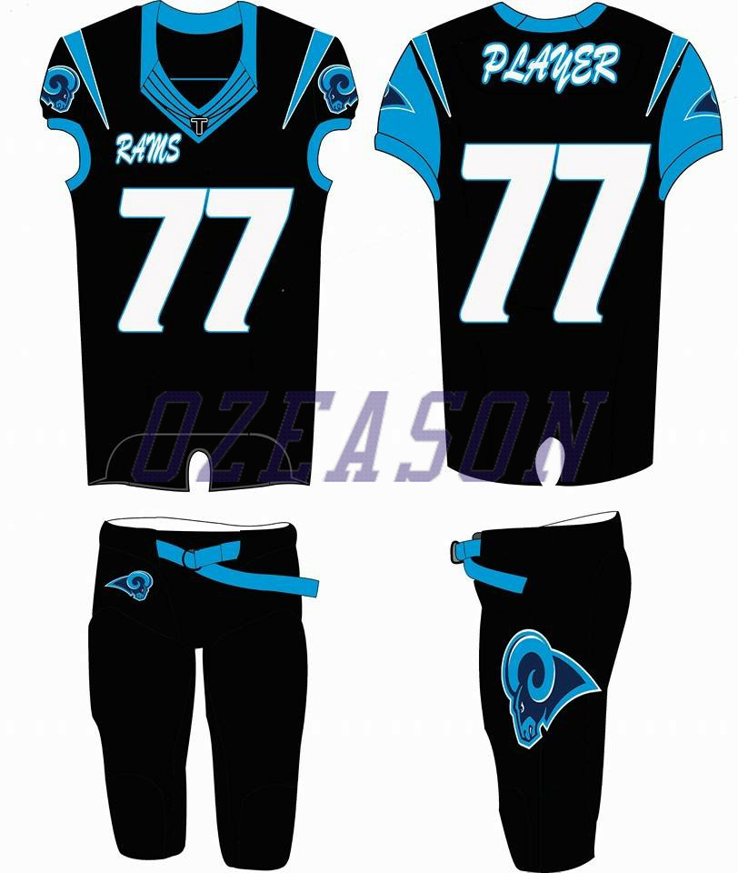 0e5c8899d China American Football Uniform Design