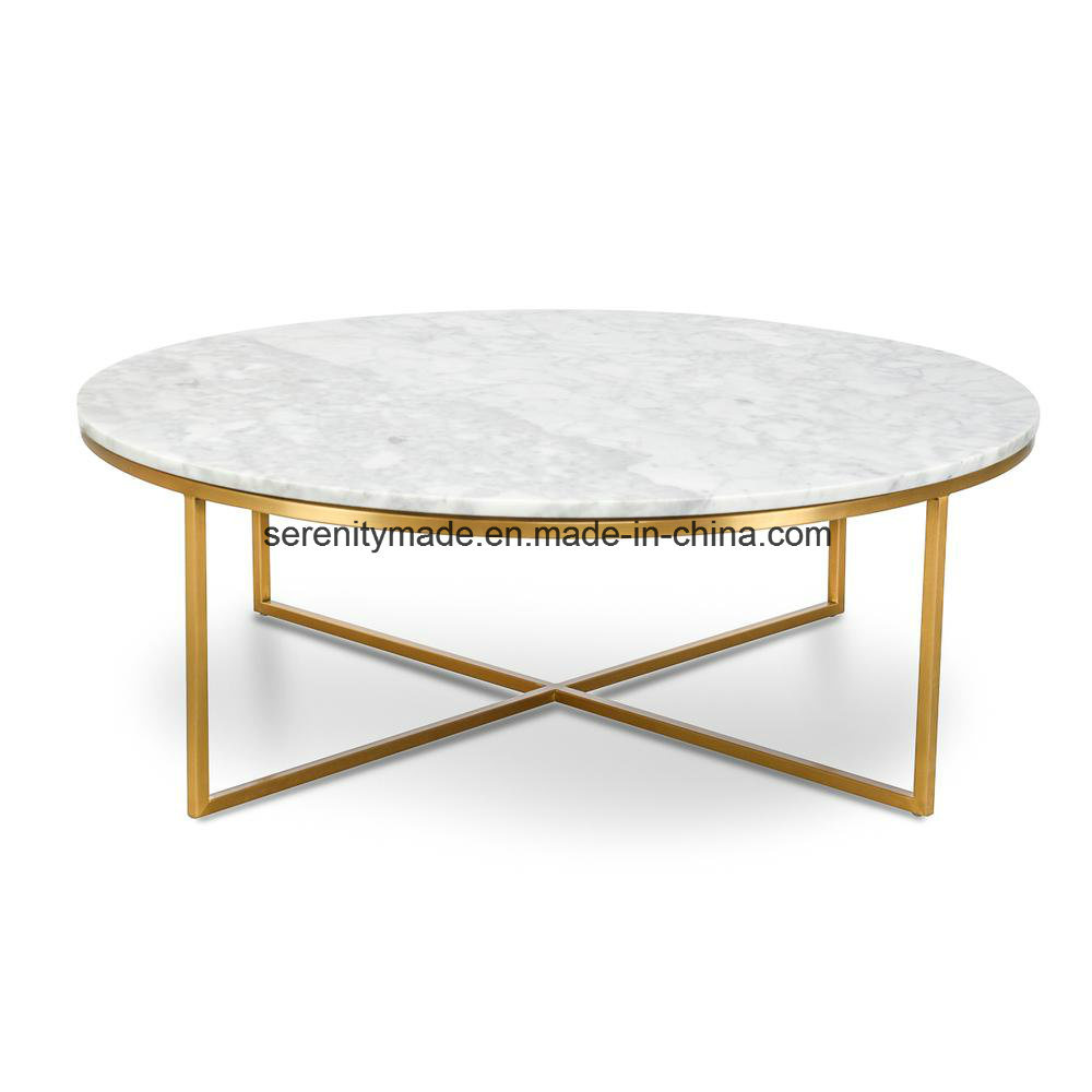 China Round Marble Top Coffee Table
