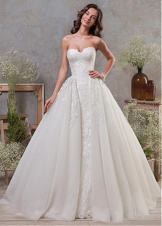 China New Wedding Dresses Lace Two in One Mermaid Bridal Ball Gowns ...