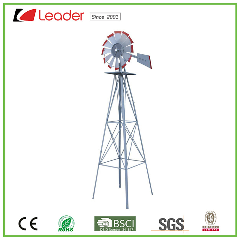 Hot Selling Metal Garden Windmill For Outdoor Decoration