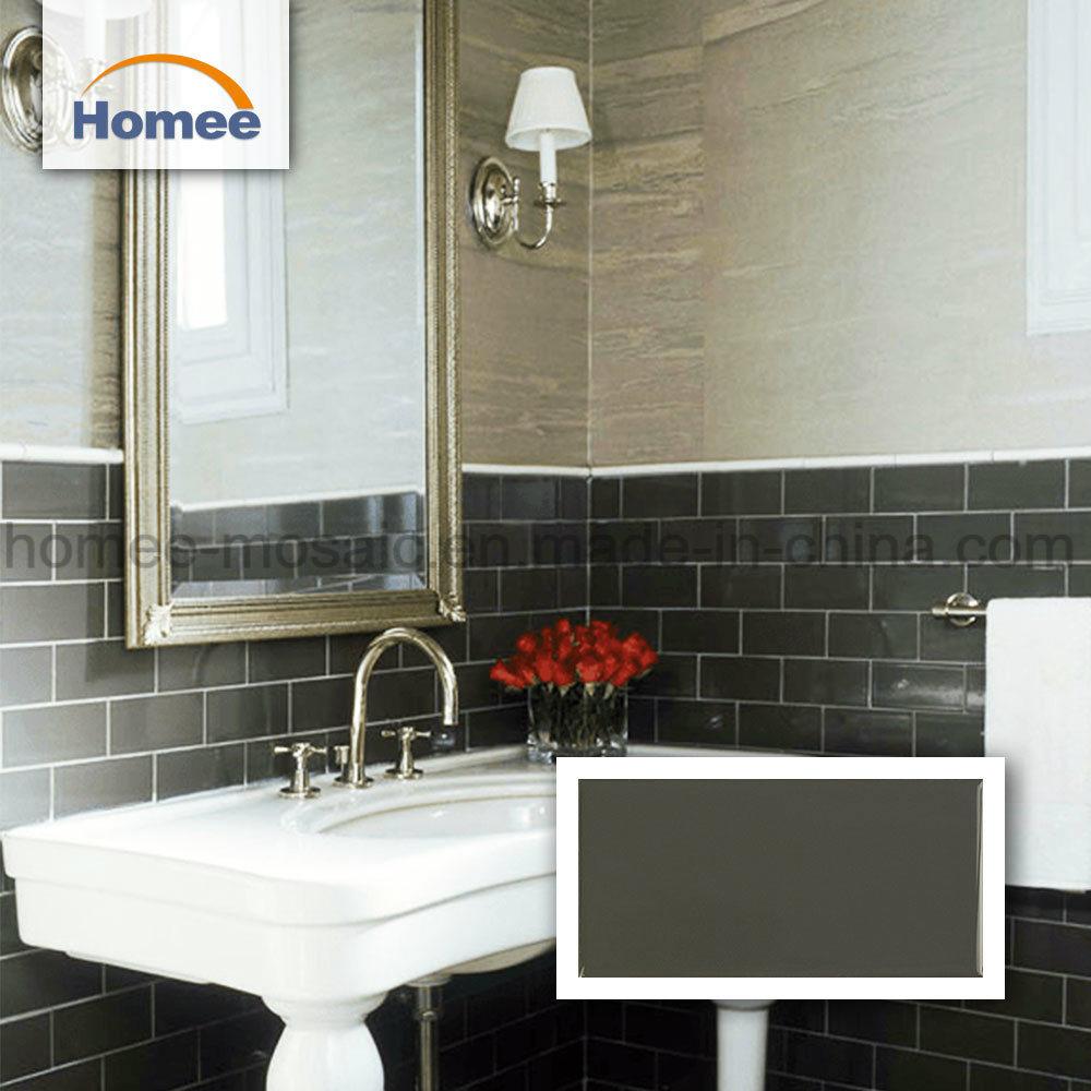 - China Kitchen Backsplash Polished Brick Ceramic Tile Back Splash