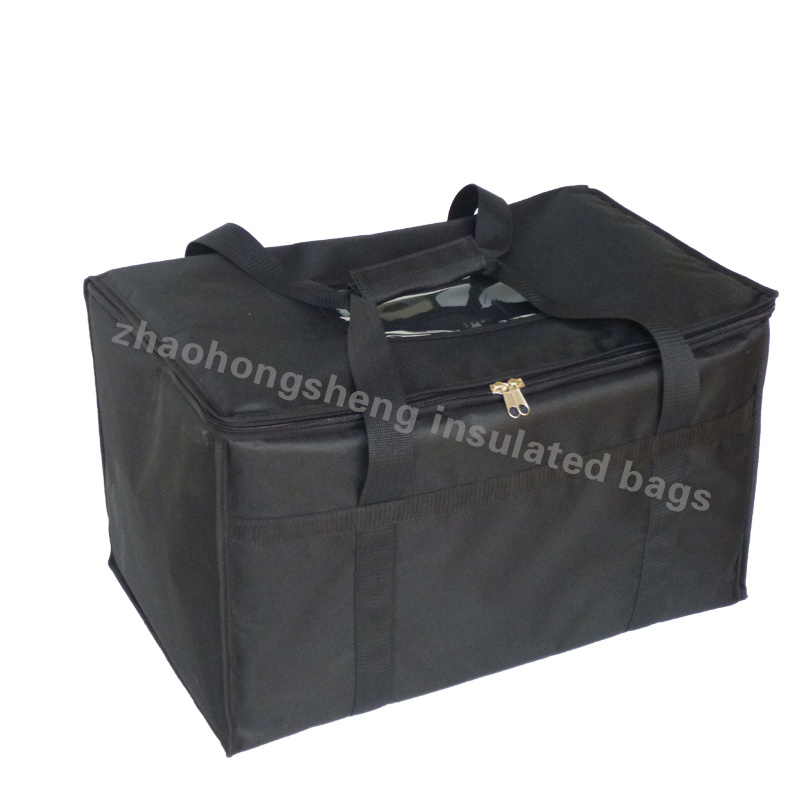 China Whole Custom Printed Insulated Thermal Lunch Food Packaging Delivery Cooler Bag