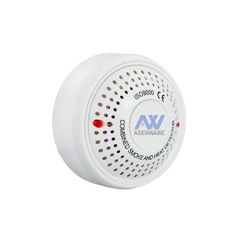 China Aw-CSD811 2 Wire / 4 Wire 220V Smoke Fire Detector - China ...