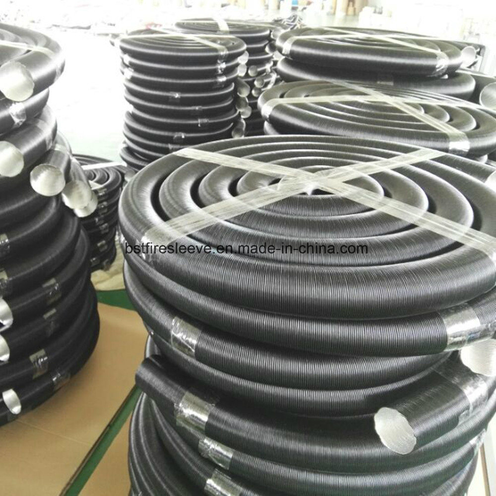 China Flexible Heat Resistant Car Engine Hose Pipe Alloy Aluminium Wiring Air Ducting