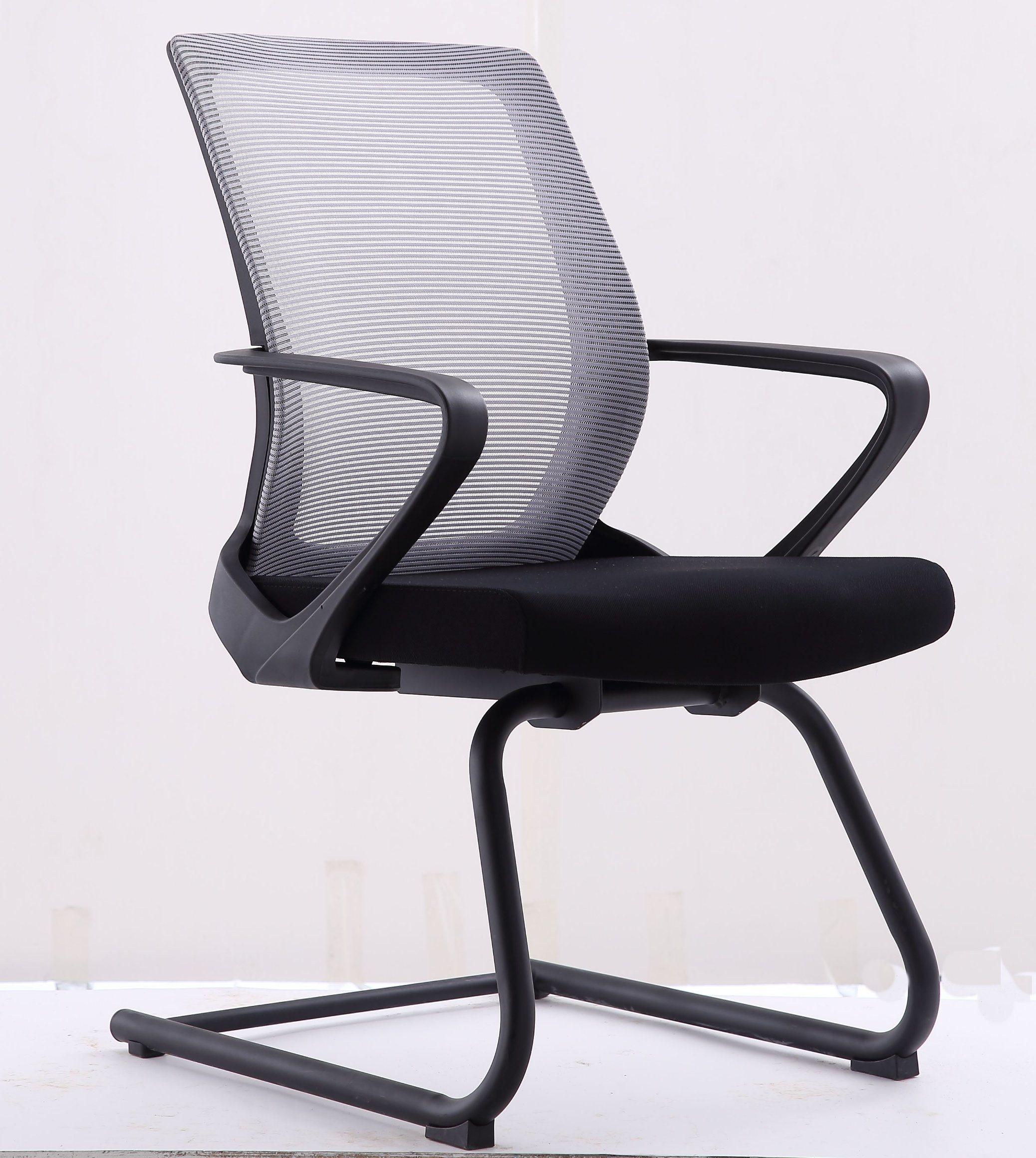 [Hot Item] Modern Office Furniture Training Mesh Office Visitor Reception  Chair (LSM-V9BK)