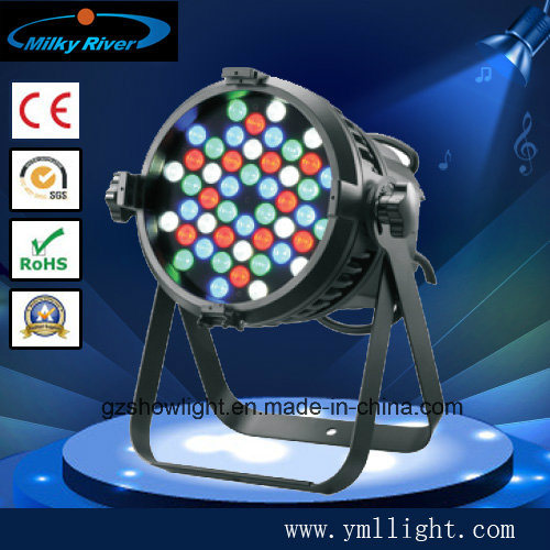 54PCS*3W LED PAR 54 RGBW Light 54*5W waterproof LED PAR Stage Light pictures & photos