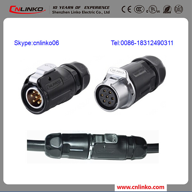 China 7 Pin Trailer Plug and Socket Electrical Wire Connector ...