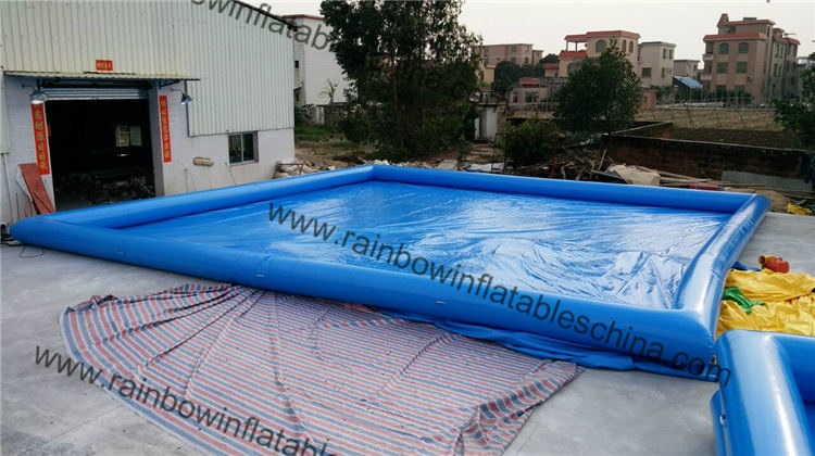 Blue Color Best 0.6mm PVC M2 Certification Inflatable Swimming Pool pictures & photos