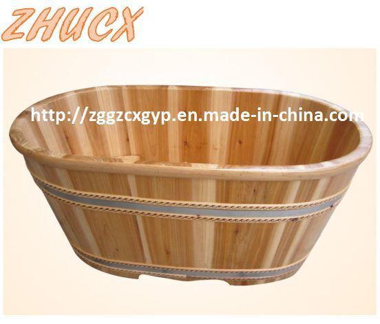 China Baby Wooden Bathtub Children Bathtub Bath Wooden Basin - China ...