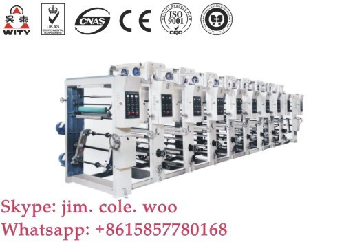 Eight Colors Flexo Printing Machine (YT-8 Series)