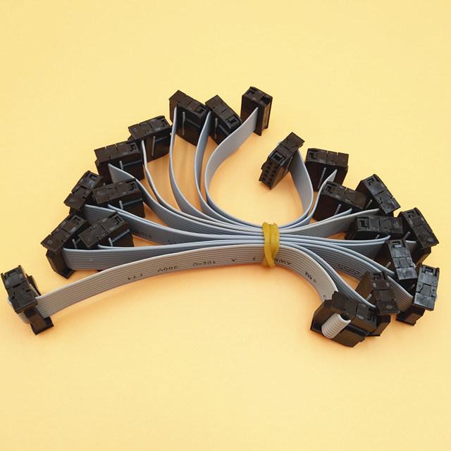 China UL 2651crimping Tool Flat Ribbon Cable with IDC 10 Pin 2.54mm ...