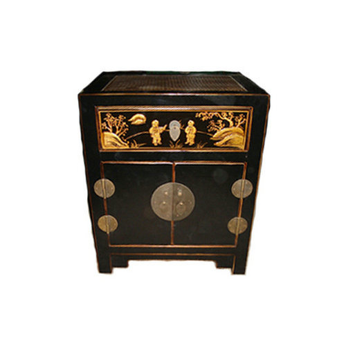 Chinese Furniture Reproduction Wooden Night Table Lwb543