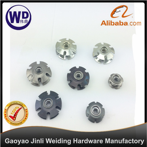 China Metal Spring Threaded Inserts For Round Tubes